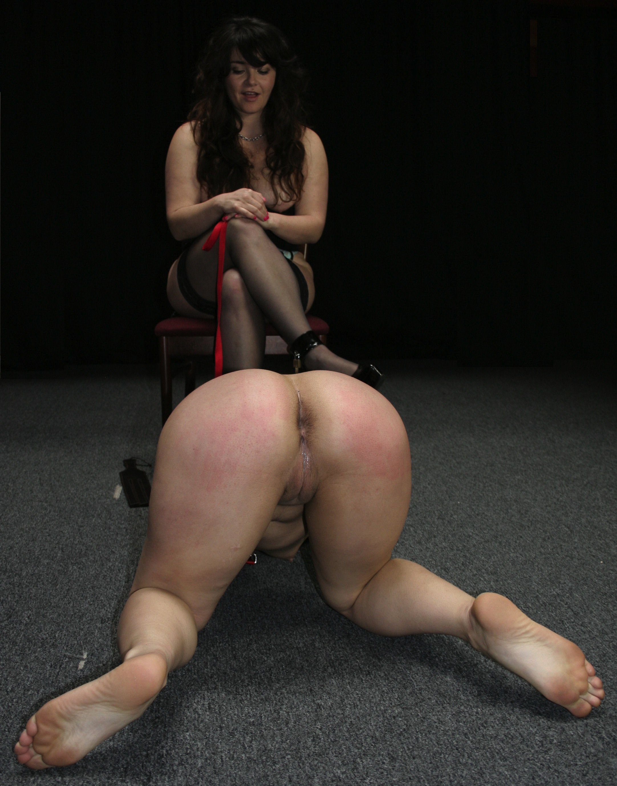 Anal hook spanking