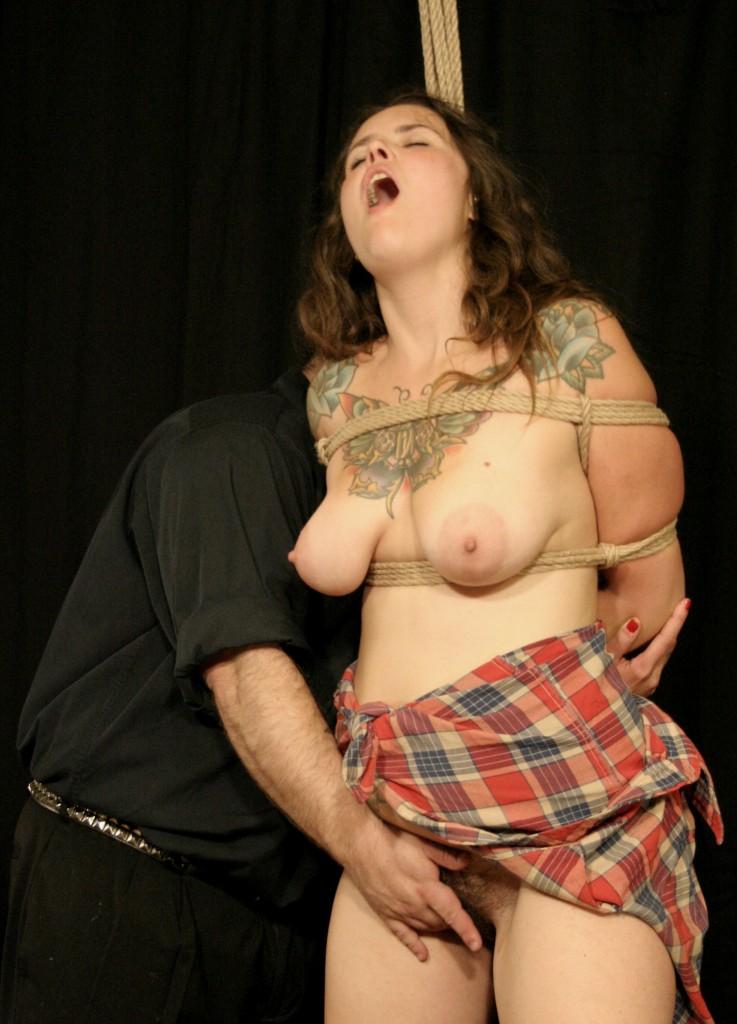 Female forced masturbation
