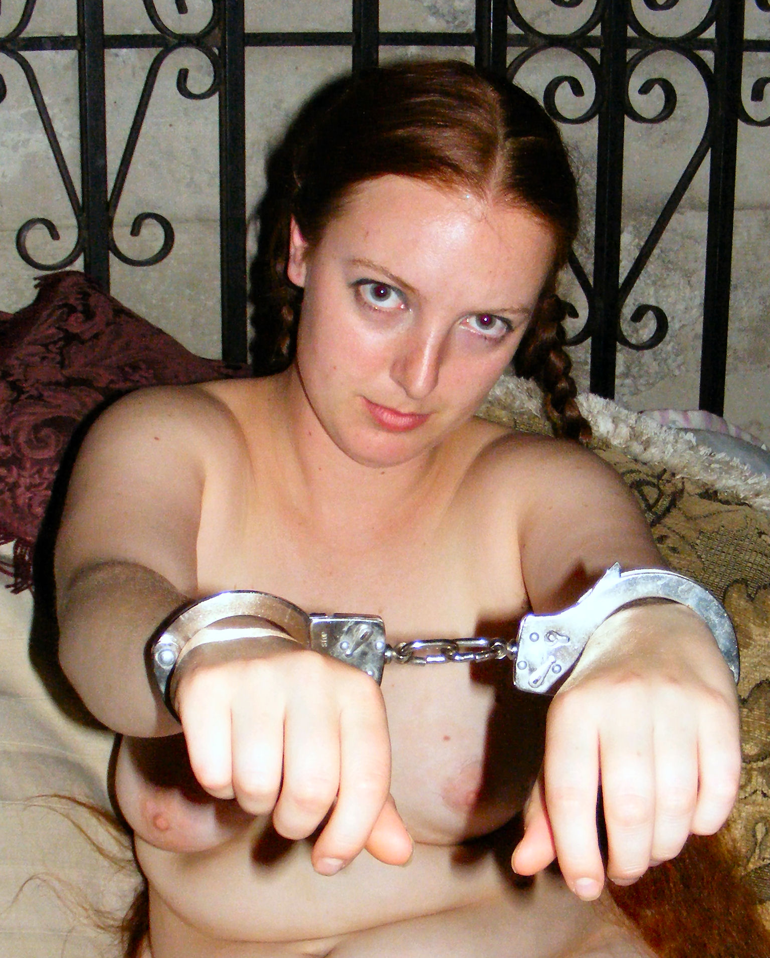 Consider, Naked girls in cuffs