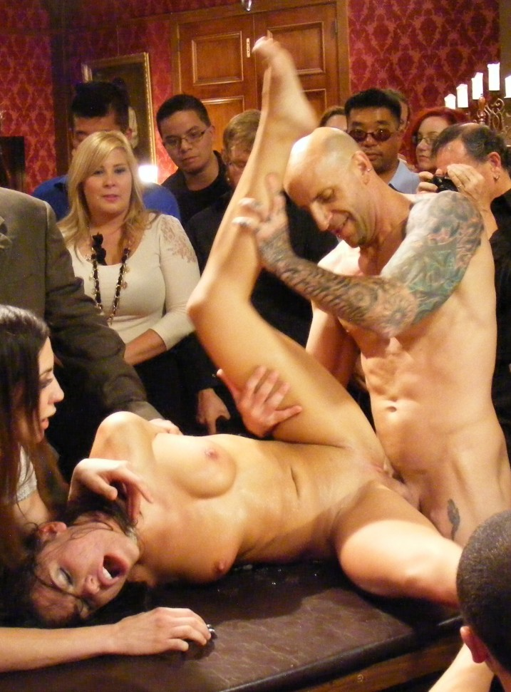 Adriana Chechik getting fucked in Public Disgrace